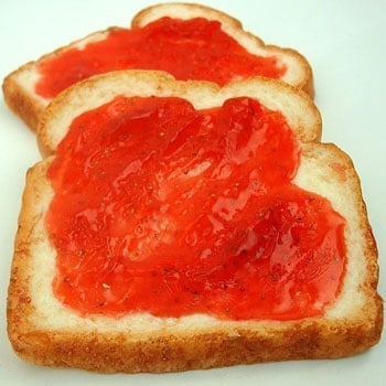Real-Looking Toast Soap