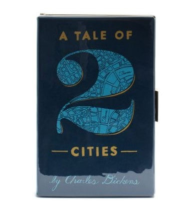 A Tale of Two Cities Kate Spade book clutch