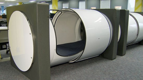 This College Put Sleep Pods in the Library So Students Can Catch a Quick Nap Between Study Sessions