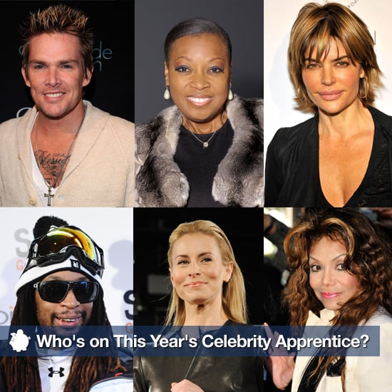 Celebrity Apprentice 2011 Cast