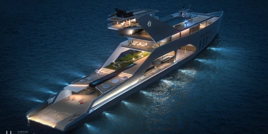 This Obscenely Fancy Mega Yacht Is Almost Too Gorgeous To Look At