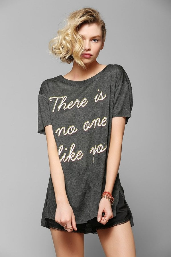 Urban Outfitters Feather Hearts No One Tee ($39)