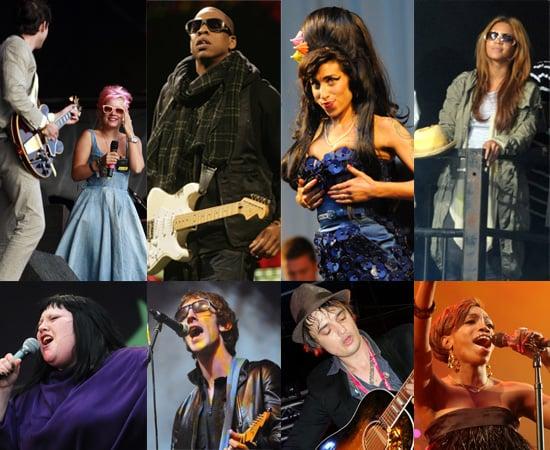 2008 Glastonbury Festival - Photos Of The Performers