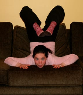 Couch Time: Stretch For Your Back and Abs