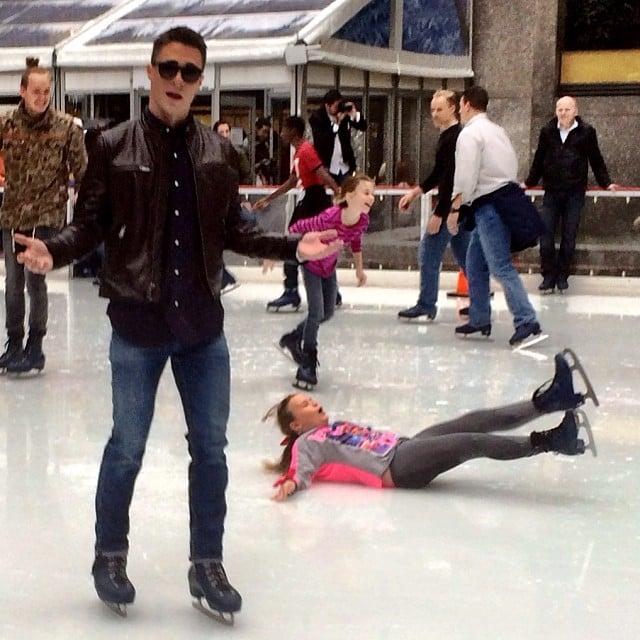 This Unfortunate Ice Skater