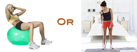 Which Do You Use More: A Gym Ball or Exercise Band?