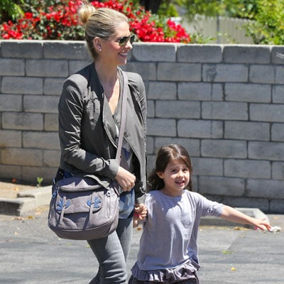 Sarah Michelle Gellar Takes Daughter to the Gym | Pictures