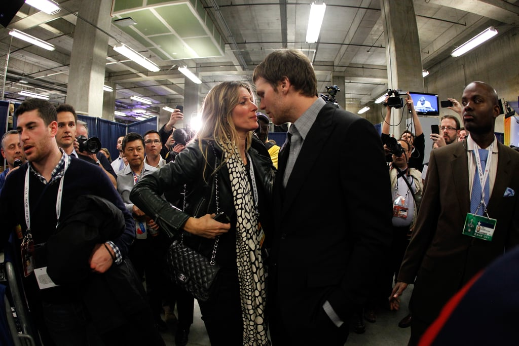 Gisele Bündchen shared some sweet words with her husband, Tom Brady, after the Super Bowl in February.