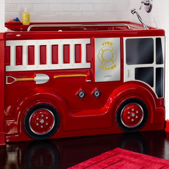 Firetruck and Castle Bathtubs For Kids