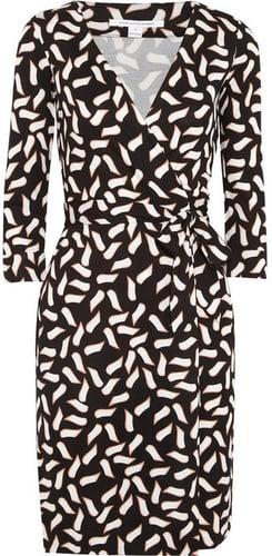 Diane von Furstenberg New Julian printed silk-jersey wrap dress
