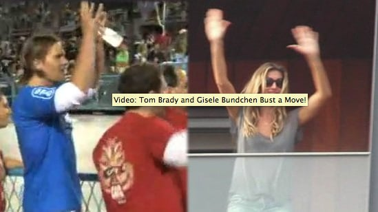 Video of Tom Brady Dancing and Gisele Bundchen Dancing at Carnival