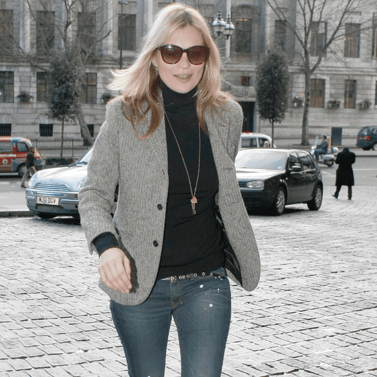 Kate Moss Wearing Denim Jeans | Outfit Photos