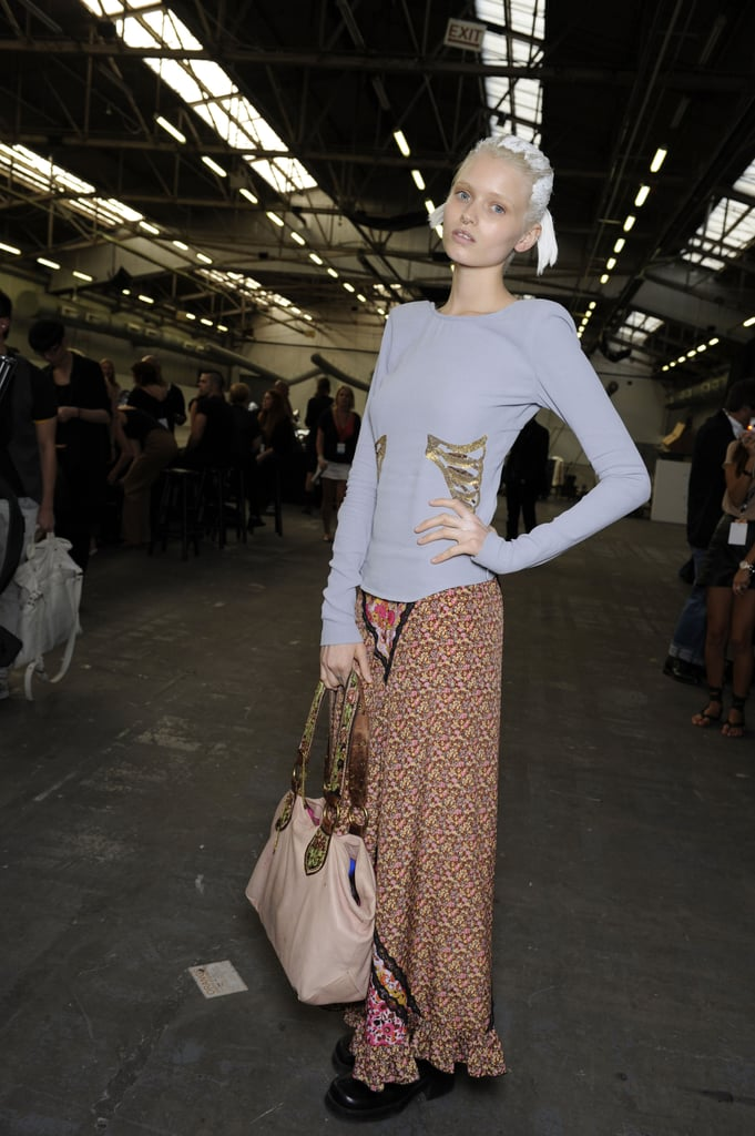 Backstage Photos from New York Fashion Week Spring 2011 ...