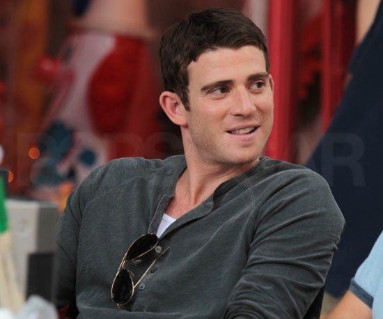 Slide Picture of Bryan Greenberg Filming in New York