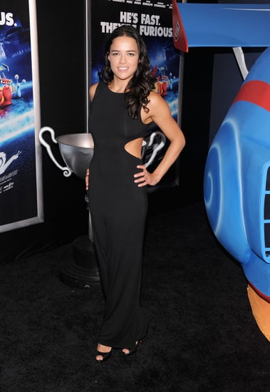 Michelle-Rodriguez-wore-all-black-Turbo-premiere-Tuesday