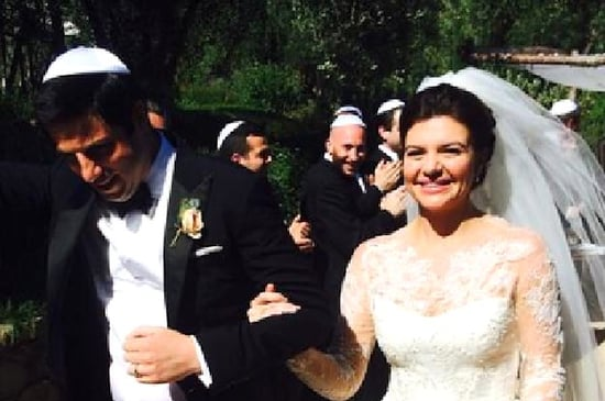 Casey Wilson And David Caspe Also Got Married This Weekend