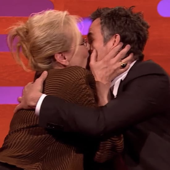 Mark Ruffalo Is Speechless After Meryl Streep Gives Him a Serious Smooch