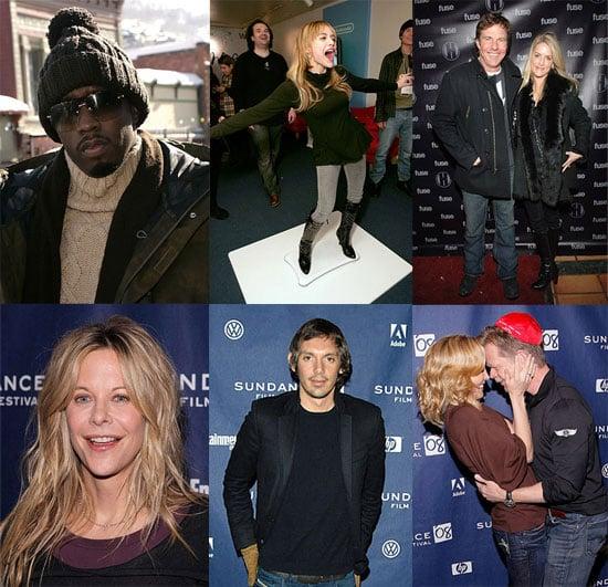 Celebrities (and Sightings) Still Cycling Through Sundance
