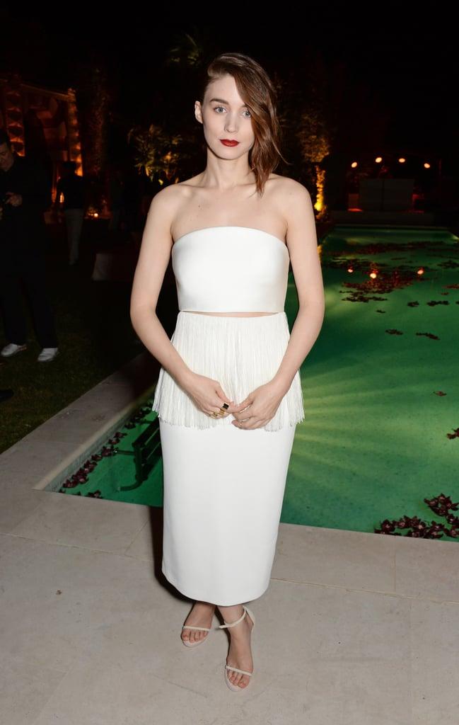 Rooney Mara at the Calvin Klein Women in Film Party