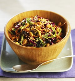 Fast & Easy Dinner: Fusion Coleslaw