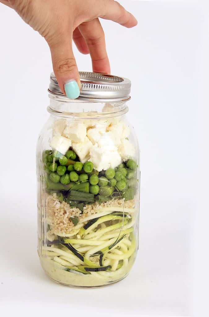 Zucchini Noodle, Quinoa, and Pea Salad