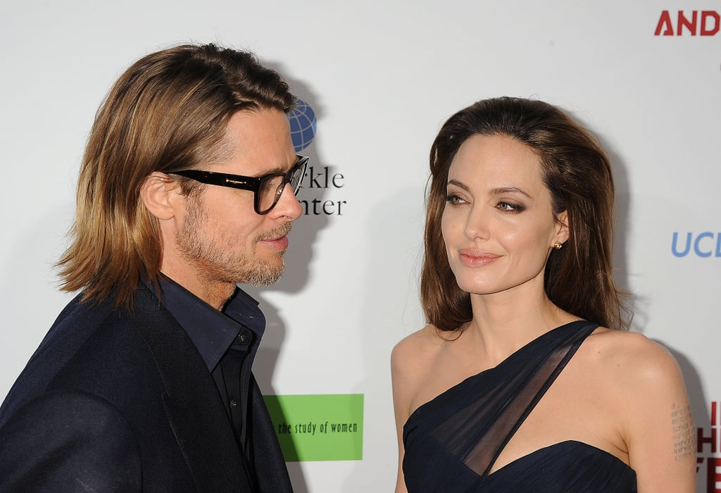 Brad on Angelina