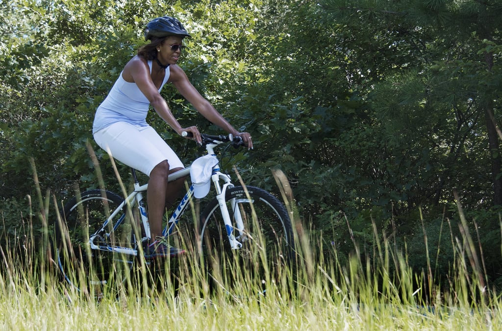 When She Rocked Her Bike-Riding Gear on Vacation