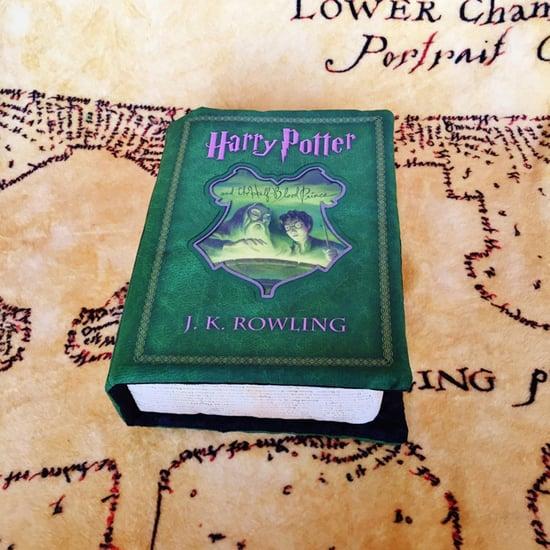 Harry Potter Book Pillows