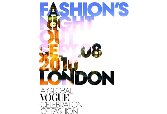 London's Fashion's Night Out 2010