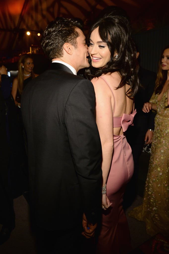 Katy Perry and Orlando Bloom Party Together —and Leave Together —on Globes Night