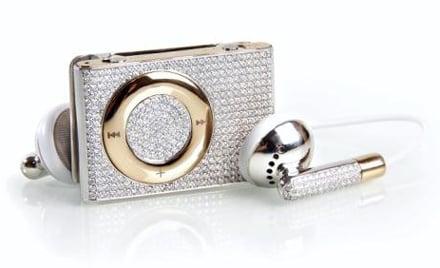 Gold and Diamond iPod Shuffle