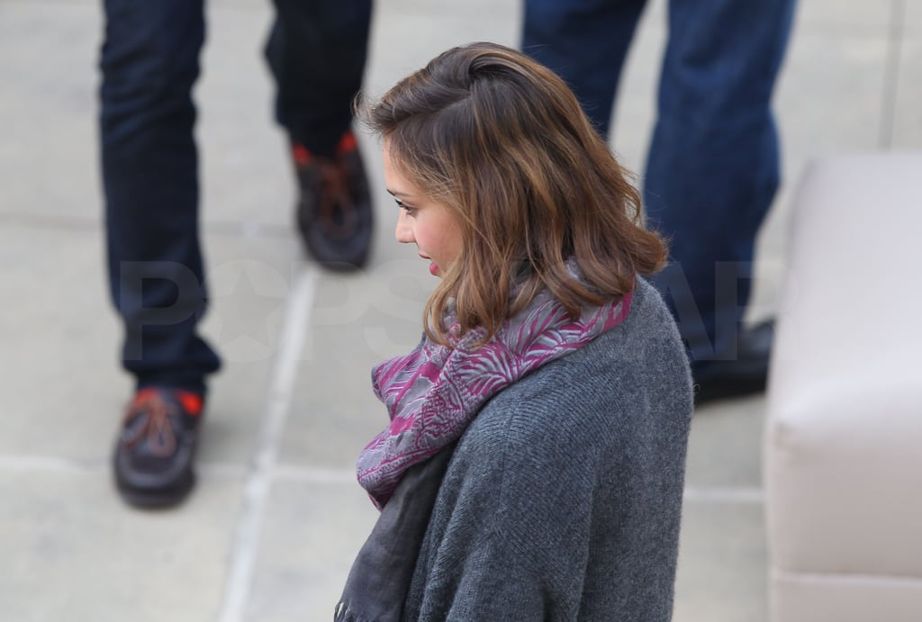Jessica Alba, Cash, and Honor Share a Special Day With Family