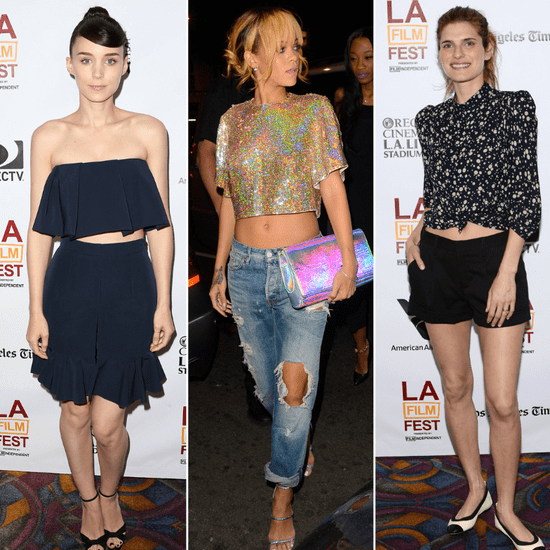 Ab-Flashers! Rooney, Rihanna, and Lake: Who Bared It Best?