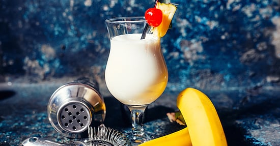 This Boozy Banana Smoothie Recipe Is Just What You've Been Looking For
