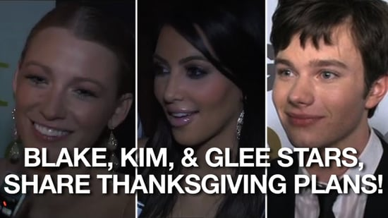 Video of Celebrities Sharing Thanksgiving Plans