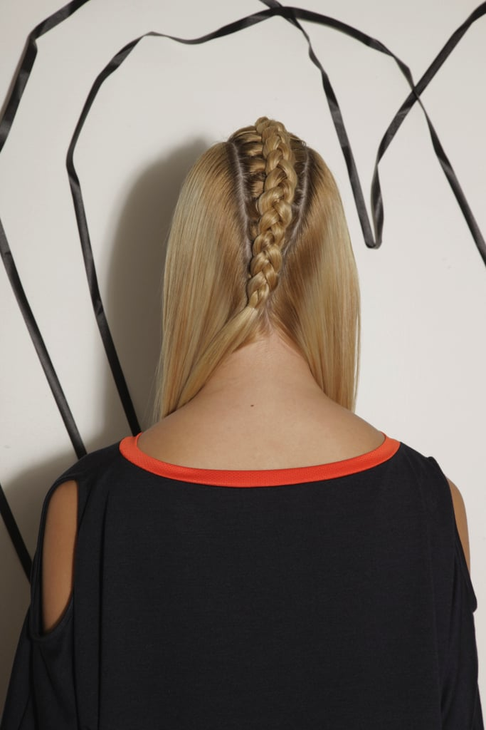 Back View of the Center Braid