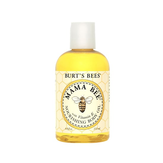 The Burt's Bees Mama Bee Nourishing Body Oil ($8) comes in pretty packaging, but it's the blend of almond, lemon peel, and soy bean oils that makes it even prettier for your skin.