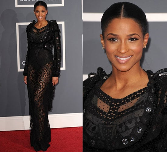 Ciara at 2010 Grammy Awards 2010-01-31 17:44:17