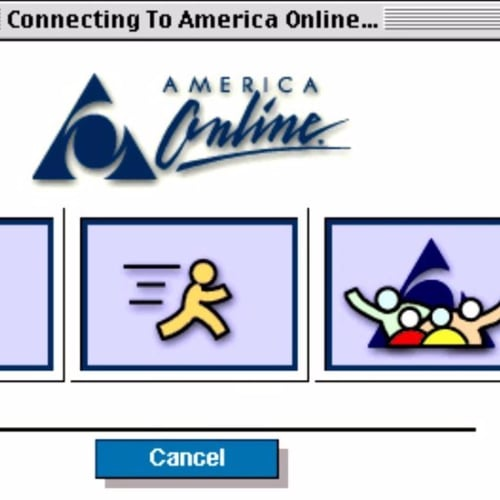 AOL in the '90s