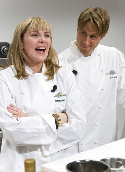 Kim Cattrall and Pals Heat Things Up In The Kitchen