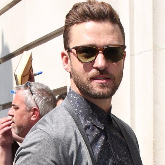 Justin Timberlake in London May 2016