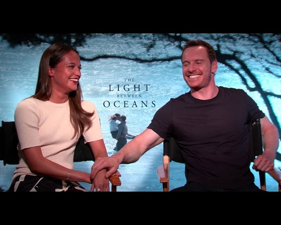 Watching Michael Fassbender and Alicia Vikander fall in love in The Light Between Oceans