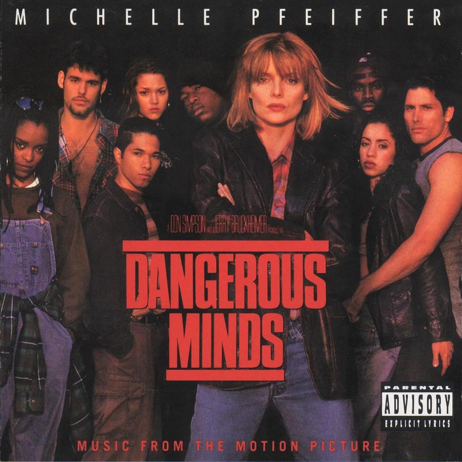 "Dangerous Minds Soundtrack My parents gave my sister and me an allowance to buy one CD a month. This was when ""Gangsta's Paradise"" was on the radio ALL the time, so naturally I had to get the CD to listen to that one song over and over and over again. — Stacy Hersher, assistant managing editor"