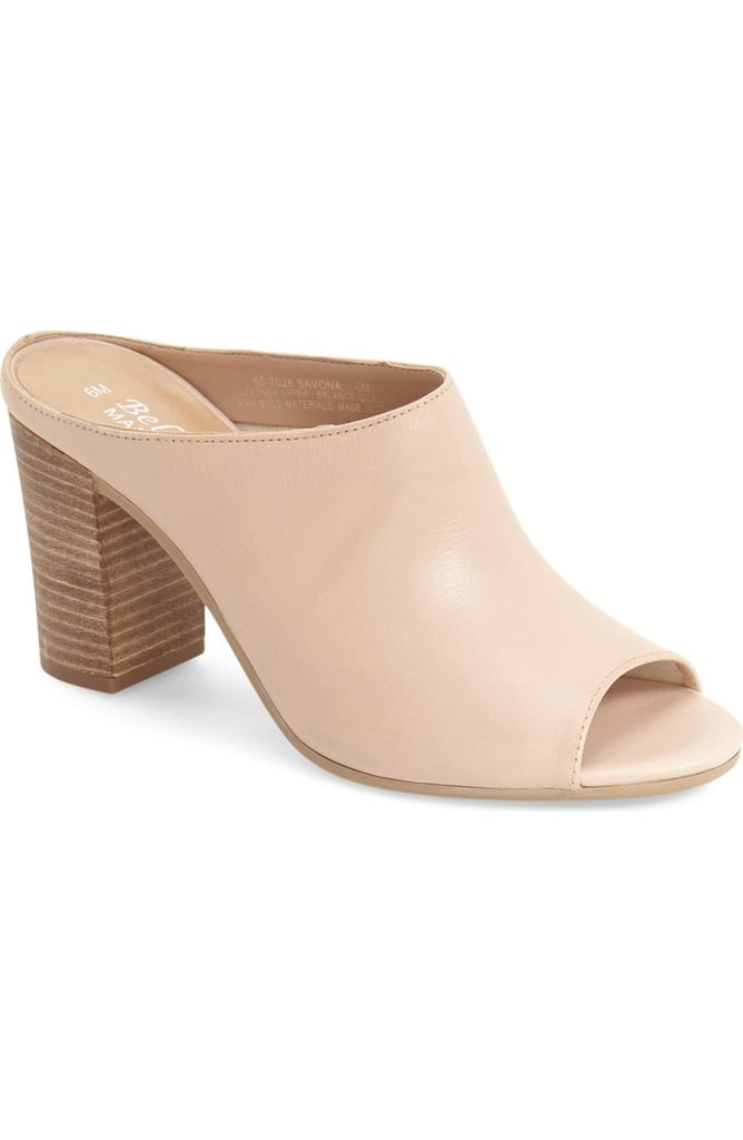 Bella Vita Savona Open Toe Mule ($100)