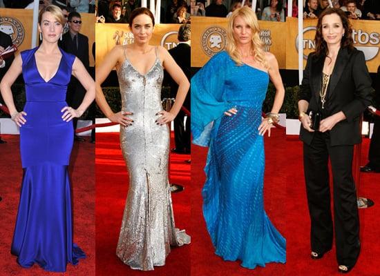 Best Dressed Brit at 2009 Screen Actors Guild Awards
