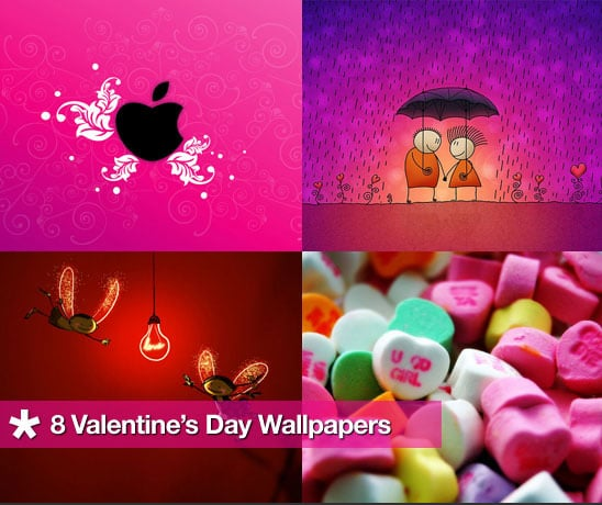 Dress Your Computer For Valentine's Day