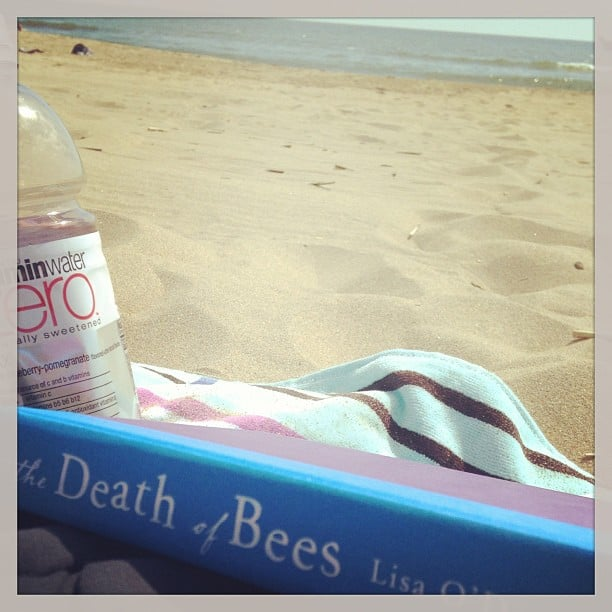 Kristenlys was reading on the beach (the best).