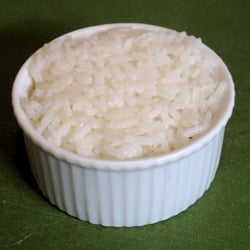 How to Plate Rice