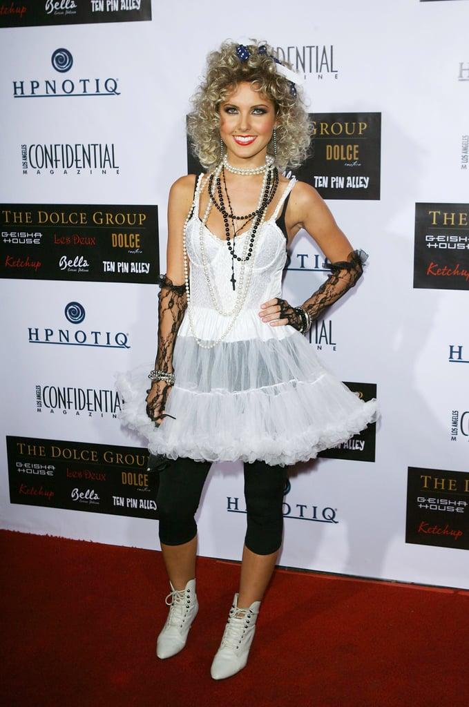 Audrina Patridge as Madonna in 2007