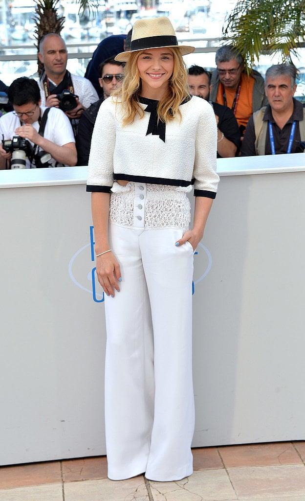 Chloë Moretz at the Cannes Film Festival